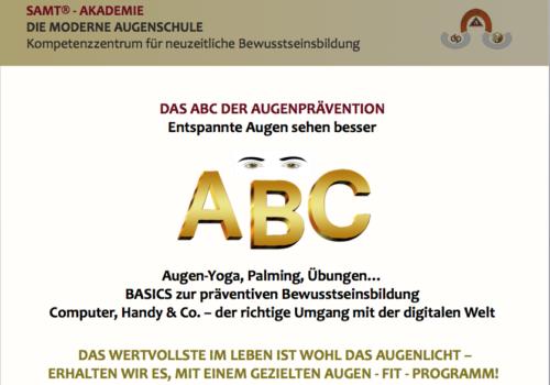 ABC der Augenprävention