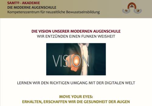Vision unserer Augenschule